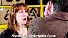 It's called marriage honey Catherine Tate, Donna Noble, Going Home, Doctor Who, Comebacks, Nerdy, Honey, Marriage, Lol