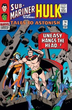Tales to Astonish #76 - Uneasy Hangs The Head..!; I, Against A World!