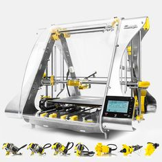 zmorph 3D printer with many toolheads
