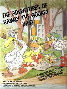 This read-aloud original story told in rhyme about a gooney bird (yes, there is such a thing!) shows that attitude is everything! Puppets, fun worksheets and lots of teacher ideas help to make this 23 page story the jumping off point to many language arts and math experiences. All worksheets are correlated to Common Core Standards.