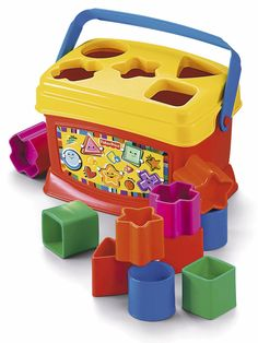 Fisher-Price Brilliant Basics Babys First Blocks | littlewoods.com