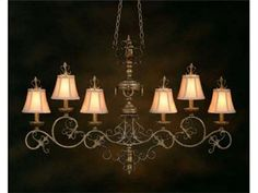 Shop For John Richard Six Light Chandelier, And Other Lamps And Lighting At Elite  Interiors In Myrtle Beach, SC. Shade: 3 Inches X 6 Inches X 5 Inches ...