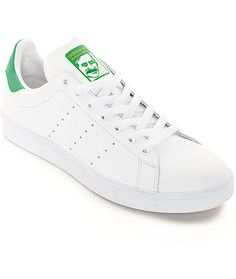hot sale online 74984 812f1 adidas Stan Smith White  Green Shoes