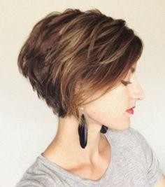 Photo extraite de Voici 15 idées de coiffures pour cheveux courts facile à porter (15 photos)