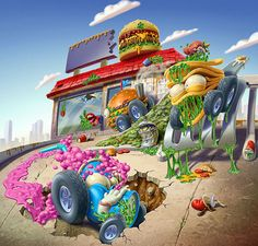 Trash Wheels - PlaySets... on Behance