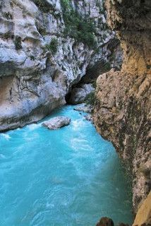 Waters of Verdon by LOccitane en Provence, via Flickr