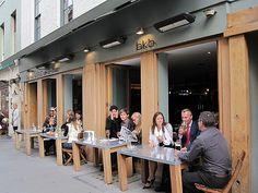 Restaurant Café Terrace Outside