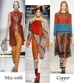 best fall / winter trends for women over 40 - Mix with copper | 40plusstyle.com
