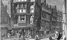 The Crooked House on the corner of Chancery Lane and Fleet Street, as…