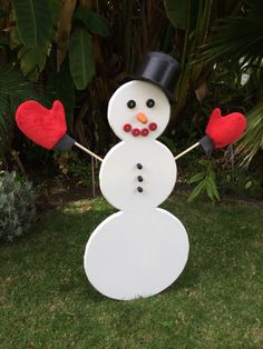 DIY: How to Make a #Snowman When You Have No Snow
