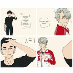"""Yuri going from cute little uke to """"I'm gonna drain you"""" seme in .5 seconds..."""