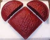 bake an 8x8 square and an 8 round cake.  cut the round in half and place on square cake to make a heart then decorate.  Cute and easy Valentine's day desert idea.  :)