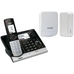 Telephone:Wireless Home Monitoring System With Cordless Telephone Vtech