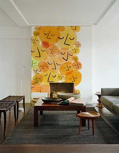 Moderno papel tapiz de pared - DecoraHOY