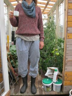 1000 Images About Gardening Outfits On Pinterest Upcycled Clothing Gardening And Patchwork Dress