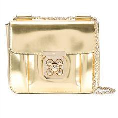 authentic chloe purse brown crossbody