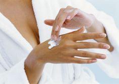 Remove age spots on your hands with facial brightening cream. #agespots #brightening #cream #skincare