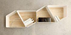 Bookshelf designs as unique as you are Traditional Bookshelves, Creative Bookshelves, White Bookshelves, Bookshelf Design, Bookcase, George Rr Martin, Modular Shelving, Shelving Systems, Shelf Furniture