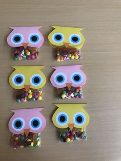 K Crafts, Preschool Crafts, Paper Crafts, Owl Kids, Paper Flowers Craft, Back To School Gifts, Craft Fairs, Homemade Gifts, Gifts For Kids