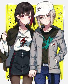 Cool Anime Girl, Sad Anime, Anime Life, Anime Demon, Anime Chibi, Otaku Anime, Manga Anime, Anime Art, School Of The Dead