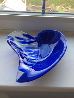 Heart bowl made by me.