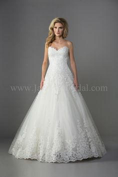 Jasmine Bridal is a premier wedding dresses designer of wedding dress and gowns. Browse our romantic, glamorous, boho-inspired, rustic, and simple wedding dress collections today! Bridal Gown Styles, A Line Bridal Gowns, Lace Ball Gowns, Tulle Ball Gown, Bridal Dresses, Wedding Gowns, Formal Wedding, Trendy Wedding, Bridal Style