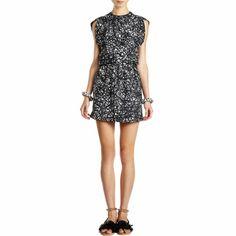 "Balenciaga ""Noise"" Print Sleeveless Dress at Barneys.com"