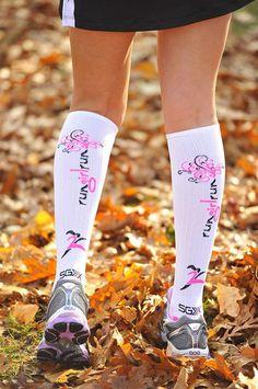 Compression running socks. I WANT these to run my marathon!!