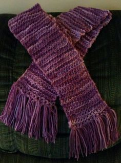 Simple scarf.. straight knitting ... Easy for beginners.