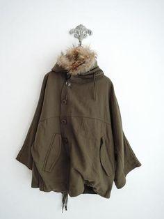 InJapan.ru — ... pas de calais* С капюшоном доломан куртка 38* Куртка 1015 — просмотр лота
