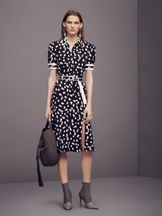Altuzarra Pre-Fall 2016: I love this polka dot dress! This collection has a lot of prints and patterns. I like the 30's inspired look.