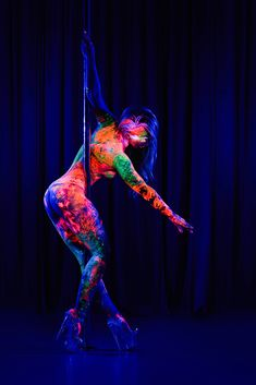 31 New Ideas For Pole Dancing Art Painting Aerial Silks