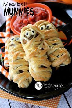 Meatball Mummies FoodBlogs.com