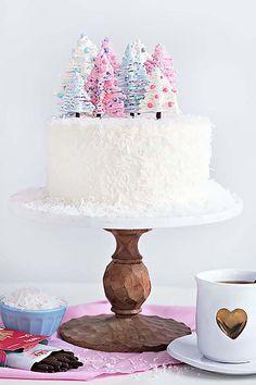 The best winter wonderland cake!