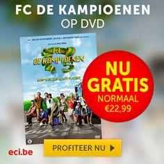 Gratis DVD F.C. De Kampioenen Bij ECI - Gratis Prijzen Winnen eci, fc de kampioenen, #free