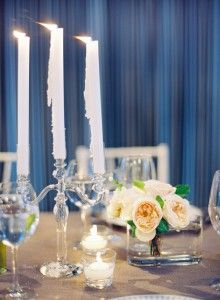 love dripping candles for a dinner party at home