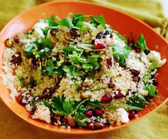 These delicious couscous recipes create the perfect side dish for tonight's dinner. Healthy, simple and ready in a snap, these recipes are sure to become family favourites Rice Recipes, Vegetable Recipes, Vegetable Pizza, Healthy Recipes, Healthy Food, Simple Couscous Recipes, Couscous Salad Recipes, Couscous Dishes, Salad