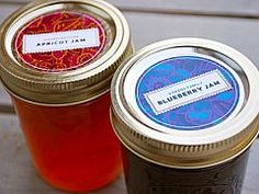 Decorate Your Jars! Fifteen Lovely Canning Label Templates