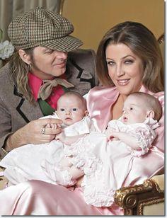 *ELVIS' ~ twin granddaughters, born in 2009. LISA MARIE PRESLEY