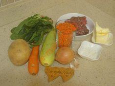 Süleymaniye Çorbası İçin Gerekli Malzemeler Carrots, Pie, Stuffed Peppers, Vegetables, Food, Food And Drinks, Torte, Cake, Fruit Cakes
