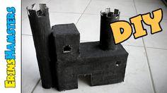 DIY Spooky Castle Hamster House | #SpookSeason2014 - YouTube