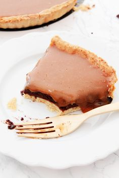 Tarte au chocolat caramel 7