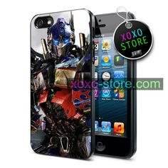 Transformers Optimus Prime iPhone 6 Plus / 6 / 5S / 5C / 5 / 4S / 4 - Samsung Galaxy S5 / S4 / S3 / Note 3 Cover Case