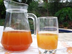 Rooibos, Fresh Apple, Ginger and Lemon Iced Tea