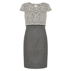 Sally Grey Luxury Business Dress by Matilda & Quinn £299 http://www.pinstripeandpearls.com/women/business-dresses