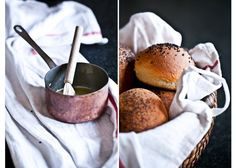 Burgerové housky Russian Recipes, Kitchenette, Creative Food, Bread Baking, Bread Recipes, Camembert Cheese, Sandwiches, Food And Drink, Rolls