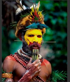 Huli tribe, The Highlands, Papua New Guinea