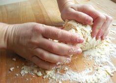 Fotografie článku: Recept na domácí těstoviny - fleky krok za krokem