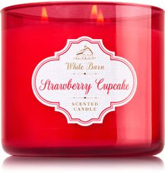 Strawberry Cupcake 3-Wick Candle - Home Fragrance 1037181 - Bath & Body Works