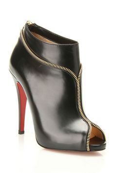 Louboutin Col Zippe Booties - YES PLEASE